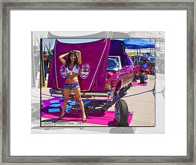 Lowrider_18 Framed Print