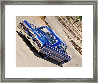 Lowrider_19d Framed Print