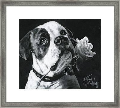 Loyal Love Framed Print by Billie Colson