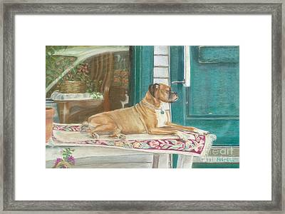 Loyalty Framed Print by Robin Grace