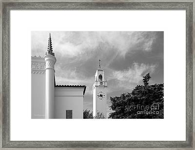 Loyola Marymount University Clock Tower Framed Print