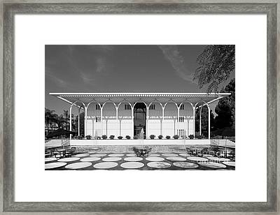 Loyola Marymount University Foley Building Framed Print by University Icons