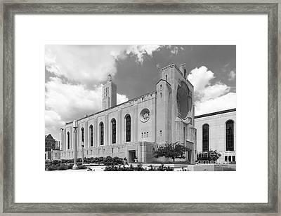 Loyola University Madonna Della Strada Chapel Framed Print