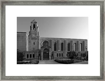 Loyola University Cudahy Library Framed Print