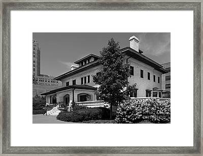 Loyola University Piper Hall Framed Print by University Icons