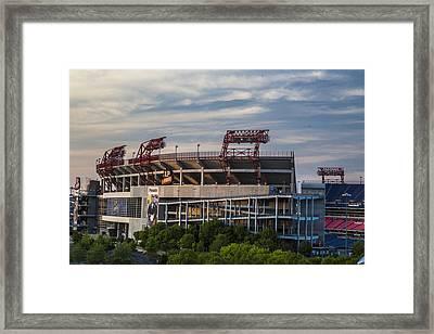 Lp Field - Nashville Tennessee  Framed Print