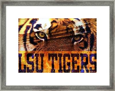 Lsu - Death Valley Framed Print