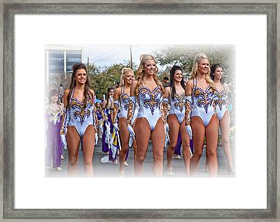 Lsu Marching Band 4 Framed Print