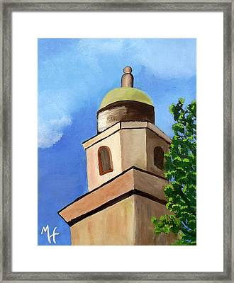 Lsu Memorial Tower Framed Print