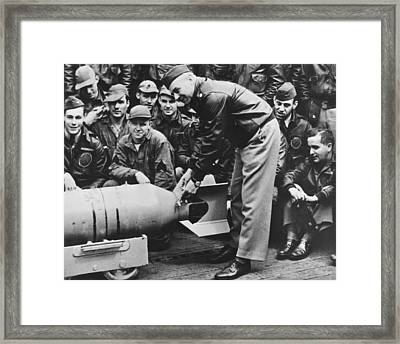 Lt. Col. Jimmy Doolittle, Wires Framed Print by Everett