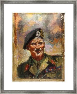Lt General Sir Bernard Montgomery Framed Print