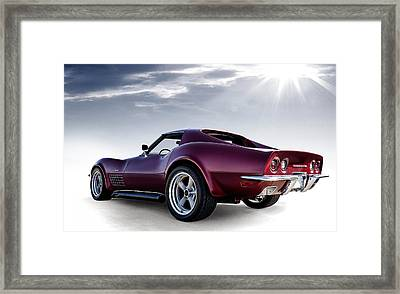 Lt1 Stingray Framed Print