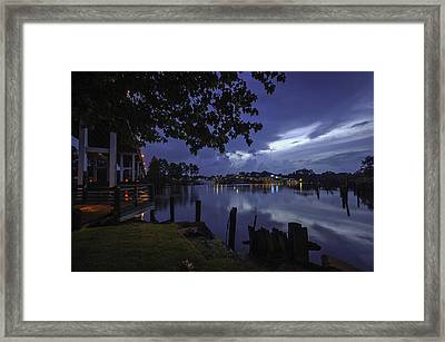Framed Print featuring the digital art Lu Lu S Before The Storm by Michael Thomas