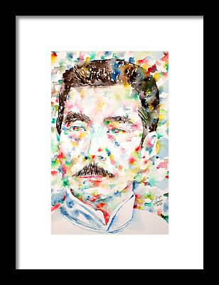 Lu Xun Framed Prints