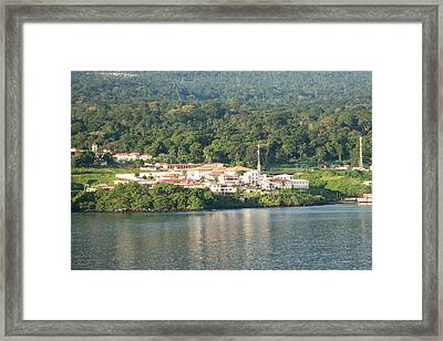 Luba On Island Of Bioko In Equatorial Guinea  Framed Print