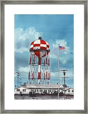 Lubbock Army Airfield Texas Framed Print by Tim Oliver