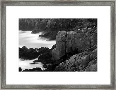 Lubec-maine Framed Print