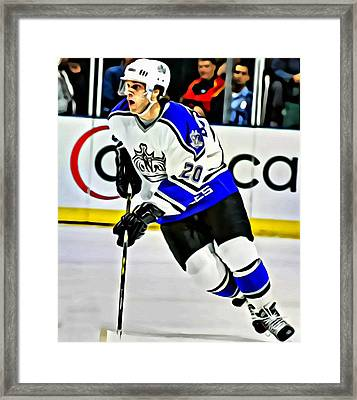 Luc Robitaille Framed Print by Florian Rodarte