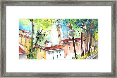 Lucca In Italy 06 Framed Print by Miki De Goodaboom