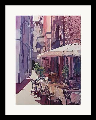 Lucca Paintings Framed Prints