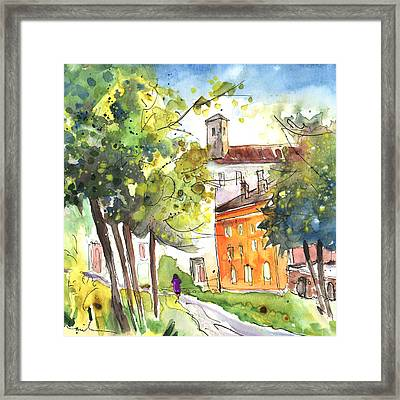 Lucca In Italy 02 Framed Print by Miki De Goodaboom