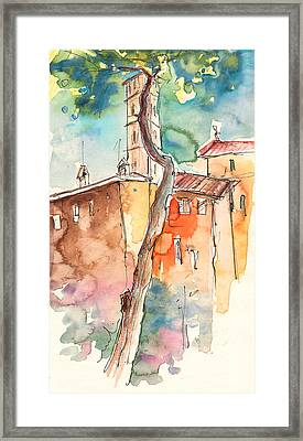 Lucca In Italy 05 Framed Print