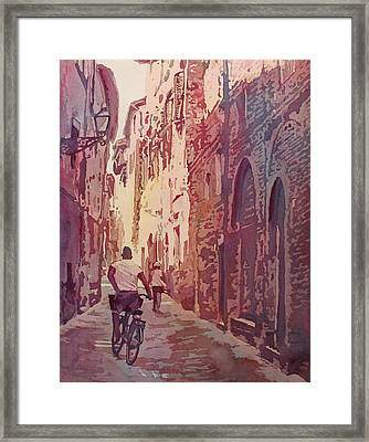 Lucca Framed Print by Jenny Armitage