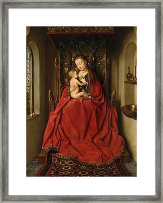 Lucca Madonna Framed Print by Jan van Eyck