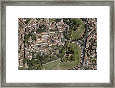 Lucca Old Town Framed Print