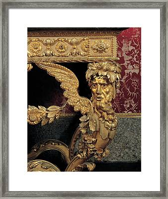 Lucca Workmanship, Wall Table, 18th Framed Print by Everett