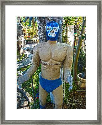 Luche Libre - 01 Framed Print by Gregory Dyer