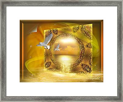Framed Print featuring the digital art Lucid Dream - Surreal Art By Giada Rossi by Giada Rossi