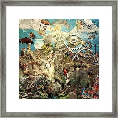 Lucid Dreaming Framed Print