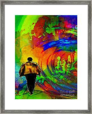 Lucie's Lover Framed Print by Mojo Mendiola