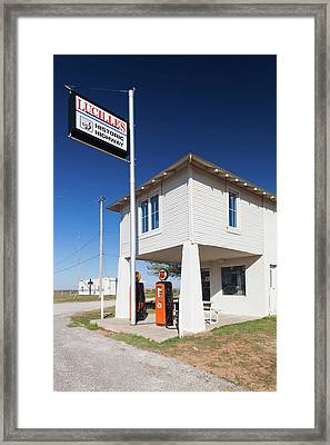 Lucilles Route 66 Roadhouse, Hydro Framed Print