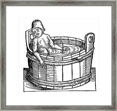 Lucius Annaeus Seneca Committing Suicide Framed Print by Universal History Archive/uig