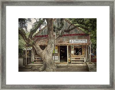 Luckenbach 2 Framed Print by Scott Norris