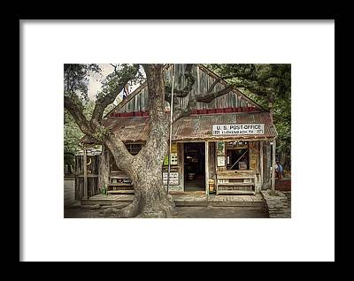 Post Offices Framed Prints