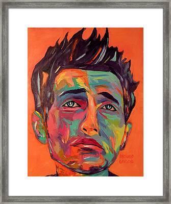 Lucky Framed Print by Arturo Garcia