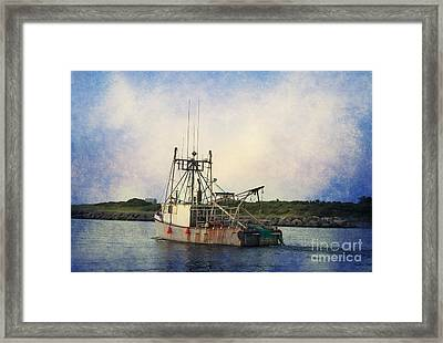 Lucky Catch Framed Print by A New Focus Photography