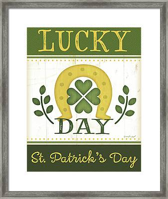 Lucky Day Framed Print by Jennifer Pugh