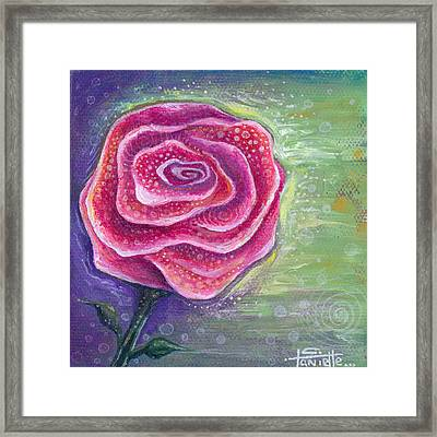 Lucky In Love Framed Print by Tanielle Childers