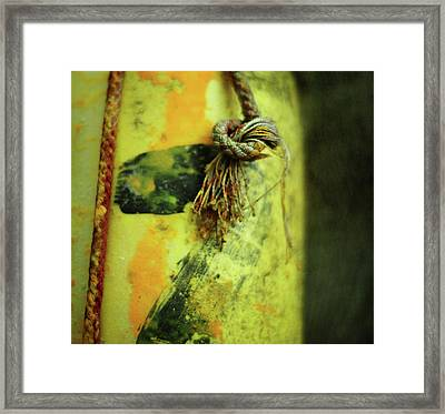 Lucky Number Seven Framed Print by Rebecca Sherman