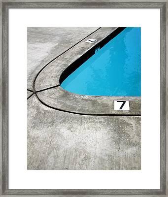 Lucky Sevens Palm Springs Framed Print