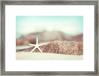 Lucky Star Framed Print by Carolyn Cochrane
