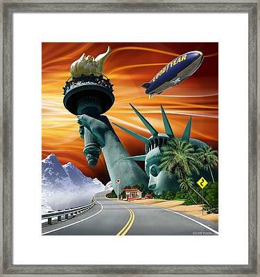 Lucky Star Framed Print