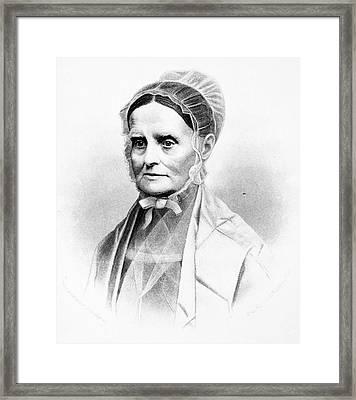 Lucretia Coffin Mott (1793-1880) Framed Print
