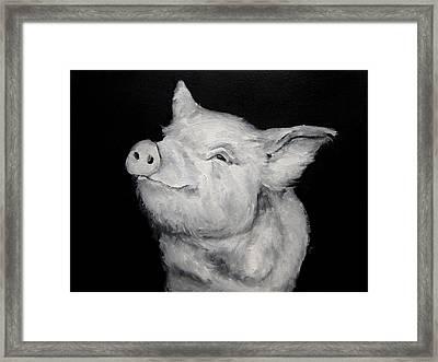 Lucy Anticipates Framed Print