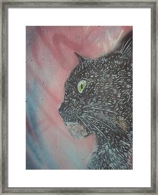 Lucy Framed Print by Christopher Golding