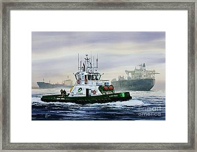 Lucy Foss Framed Print by James Williamson